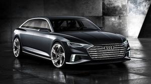 Audi Audi Prologue Black Car Car Compact Car Concept Car 4096x2206 wallpaper