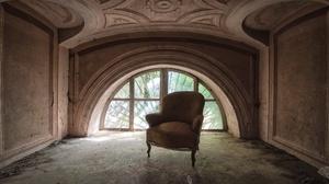 Abandoned Chair Room Window 2048x1365 Wallpaper