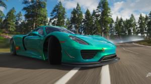 Forza Forza Horizon 4 Racing Car Ultrawide Video Games Porsche 918 Spyder Drift 3440x1440 Wallpaper