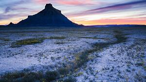 Utah Badlands Nature Nature Landscape Sunset USA Flowers 6720x4480 Wallpaper