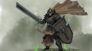 Undead Shield Sword 1920x1401 Wallpaper