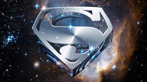Superman Shield Space Stars DC Comics 1600x1200 Wallpaper