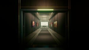 Room Hallway Cyberpunk 2077 Piano 1920x1080 Wallpaper