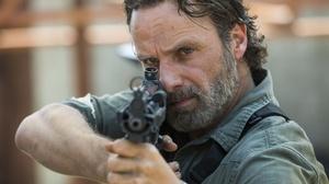 Rick Grimes TV Series SMG Gun Actor Celebrity Depth Of Field Beard Men Beards The Walking Dead Twd S 4500x3000 Wallpaper