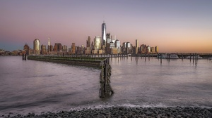 Building City Manhattan Skyscraper Usa 2048x1366 Wallpaper