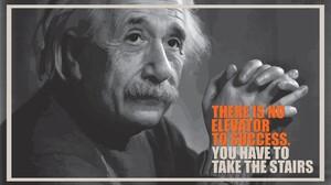 Albert Einstein Fake Quote Brain 1920x1080 Wallpaper