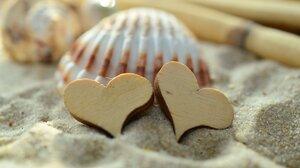 Love Sand 3840x2160 wallpaper
