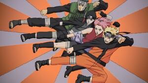 Naruto Hokage Naruto Yamato Naruto Sai Naruto Sakura Haruno Naruto Uzumaki 1920x1200 Wallpaper