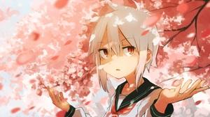 Anime Girl 2036x1212 Wallpaper