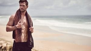Actor Australian Chris Hemsworth Depth Of Field 3000x2000 Wallpaper
