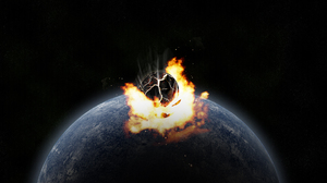 Collision Earth Meteor 1920x1200 Wallpaper
