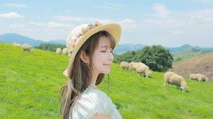 Yurisa Model Korean Smile Asian 1600x1280 wallpaper