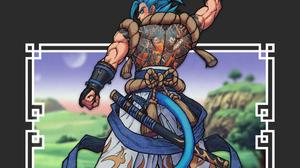 Anime Kimetsu No Yaiba Tanjiro Kamado Dragon Ball Cyberpunk Minimalism 1125x2436 wallpaper