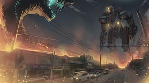 Creature Robot 3547x2103 Wallpaper