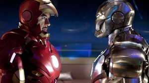 Iron Man 2 Robert Downey Jr Iron Man War Machine Tony Stark Marvel Comics 5616x3744 Wallpaper