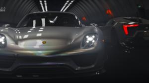 Porsche 918 Spyder Forza Forza Horizon 4 Racing Video Games Ultrawide Car 3440x1440 Wallpaper