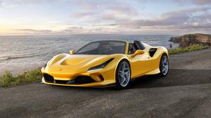 Ferrari Car Yellow Car Sport Car Supercar Convertible 4962x3507 Wallpaper