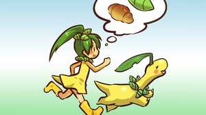 Bayleef Pokemon Girl Humanized Pokemon 2560x1600 wallpaper