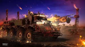 Crossout Video Game Post Apocalyptic Truck Vehicle 1920x1080 Wallpaper