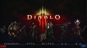 Diablo Iii Barbarian Diablo Iii Monk Diablo Iii Wizard Diablo Iii Demon Hunter Diablo Iii Witch Doct 1920x1080 Wallpaper