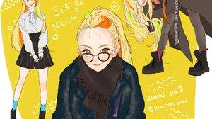 Zombieland Saga Anime Girls School Uniform Zombie 2 Saki Nikaidou 2659x2000 Wallpaper
