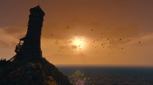 The Witcher 3 Wild Hunt Video Game Landscape RPG Sunlight Screen Shot Video Games PC Gaming 3840x2160 Wallpaper