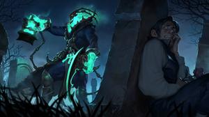 Thresh League Of Legends 2560x1280 wallpaper