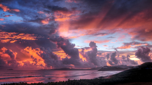 Cloud Coastline Pastel Scenic Shore Sky 1920x1280 Wallpaper