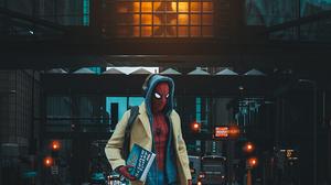 Spider Man Spider Man Homecoming Movie Evening Glow Edit 1080x1920 Wallpaper
