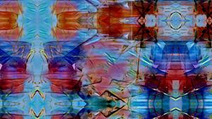 Abstract Artistic Blue Colors Digital Art 1920x1080 Wallpaper