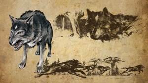 Wolf Concept Art 1920x1080 Wallpaper