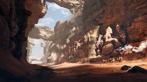 Canyon Sand 2048x1080 Wallpaper