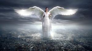 Fantasy Angel 3840x2160 wallpaper
