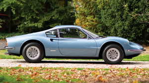 Blue Car Car Coupe Dino 246 Gt Grand Tourer Old Car Sport Car 1920x1080 Wallpaper