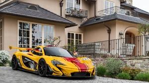 Car Mclaren Mclaren P1 Sport Car Supercar Vehicle Yellow Car 2048x1280 Wallpaper