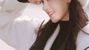 Kiku Ju Jingyi Actress Singer Women Chinese Asian Black Hair Sailor Suit Berets 2660x4032 Wallpaper