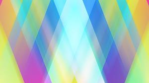 Artistic Blue Colors Digital Art Gradient Pastel Shapes 1920x1080 Wallpaper