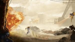 Video Game Gunstar Heroes 1920x1080 Wallpaper