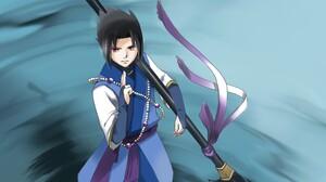Sasuke Uchiha 2048x1151 Wallpaper