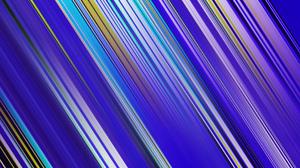 Abstract Artistic Blue Colors Digital Art Gradient Lines 1920x1080 Wallpaper