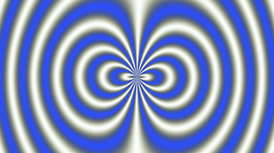 Artistic Blue Digital Art Kaleidoscope Optical Illusion Spiral White 1920x1080 Wallpaper