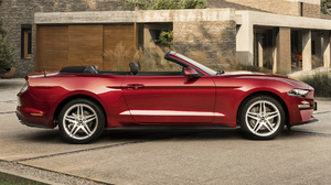 Car Convertible Ford Mustang Muscle Car Red Car 1920x1080 Wallpaper