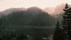 Video Game Art Far Cry Far Cry 5 Water Forest River Screen Shot Landscape PlayStation PlayStation 4 1920x1080 Wallpaper