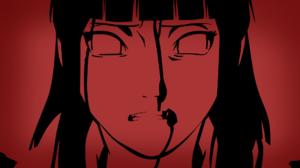 Naruto Shippuuden Naruto Shippuuden Hyuuga Hinata Anime Girls Red 1920x1080 Wallpaper