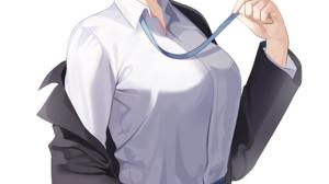 Re Zero Kara Hajimeru Isekai Seikatsu Alternate Outfit JK School Uniform Black Jackets Blushing Bang 3000x5121 Wallpaper