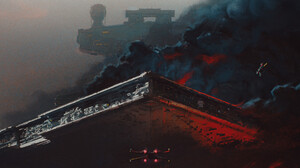 Artwork Star Wars 2560x1341 Wallpaper