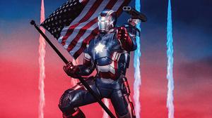 Marvel Comics Iron Patriot 4098x2305 Wallpaper