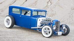 1930 Ford Sedan Hot Rod Vintage Car 2040x1355 Wallpaper