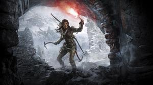 Lara Croft Rise Of The Tomb Raider 9600x5400 wallpaper