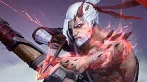 Hanzo Overwatch 3440x1440 Wallpaper